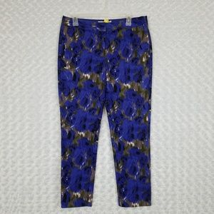 Boden Size 8L Printed Ankle Pants